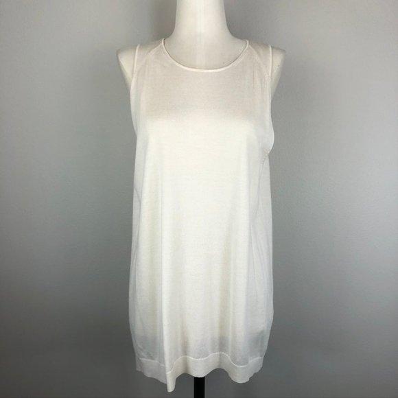 3.1 Philip Lim Cashmere/Silk Sleeveless Sweater